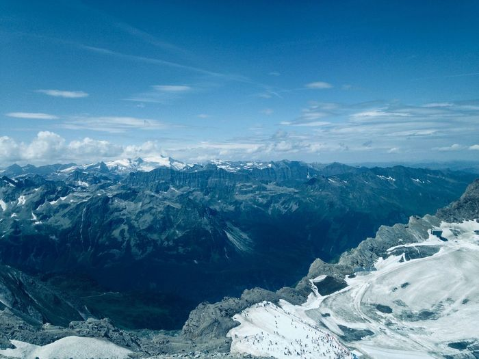 Alpenblick Top of Salzburg Glacier Alpen Alps EyeEm Selects Scenics - Nature Snow Environment Cold Temperature Landscape Nature Mountain Snowcapped Mountain
