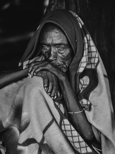 Konso Village elder in the Omo Valley / Ethiopia Konso African Africa Ethiopian Photography 🇪🇹 Ethiopian Omo Valley Ethiopia Portraits Portrait Photography Portrait EyeEm Selects Travelling Travel Destinations Travelphotography Travel Photography Travel One Person Real People Portrait Indoors  Looking At Camera Front View Clothing Adult Close-up Men Headshot Human Body Part Males  Textile
