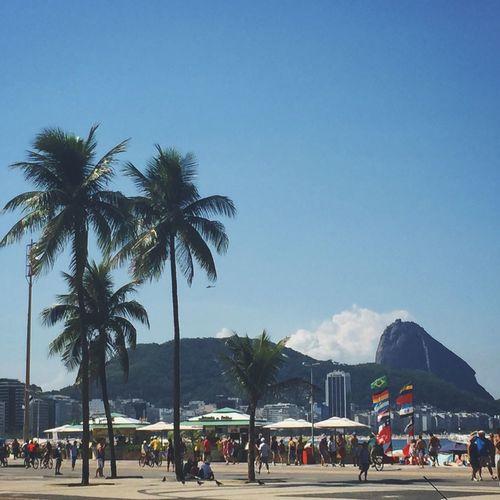 Pão de Açúcar visto de Copacabana