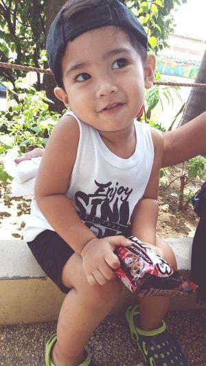 Cutenessoverload💙💖💙 Close-up Nephew Very Cute  123smile