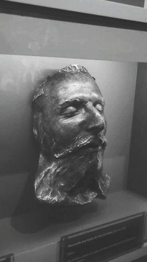 Maximiliano de Habsburgo Mask Museo De Las Intervenciones Coyoacán Historical Character