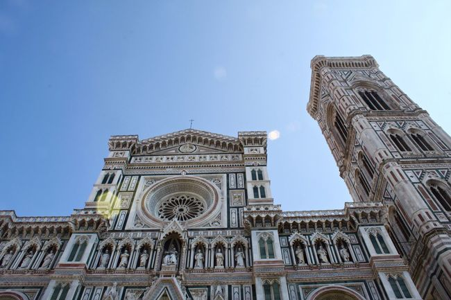 Architecture Built Structure Cathedral Façade Façade Florence Gothic Architecture Gothic Church Il Duomo Italia Italy Low Angle View Marble Marbledstone Ornate Toscana Tuscany