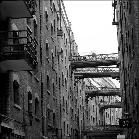 Monochrome Urban landscapes of Londons most famous landmarks. Alleyways Architecture Butlers Wharf Iconic London London Architecture Monochrome River Thames Top Tourist Destination Tower Bridge  Urban Landscapes Victorian London