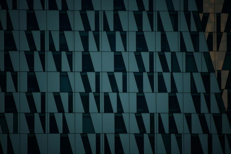 ACHotel Architectural Design Architecture BellaSky Blue Building Exterior Built Structure Copenhagen Denmark Full Frame Geometric Shape Low Angle View Nordicdesign Outdoors Pattern Sky
