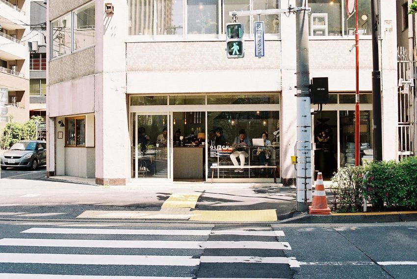 Architecture Built Structure Coffee Shop Walking Around Film Photography Nikon Fm2 From My Point Of View Streetphotography Morning Time Taking Photos What I See Eye4photography  NikonFM2 Life Life Is Good