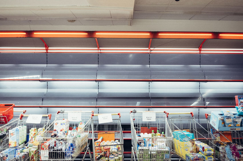 Day Indoors  No People Retail  Store Supermarket
