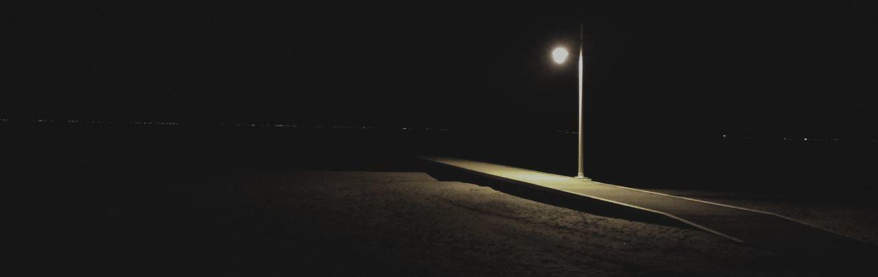 Night No People Illuminated Nature Outdoors Los Alcázares Los Narejos Playa Beach Beachphotography