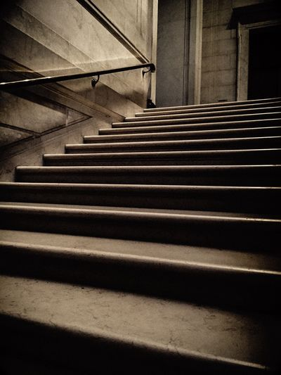 Stairs in a museum Black & White Museums Old Stairs staircase Stairs Marble Stairs Marble