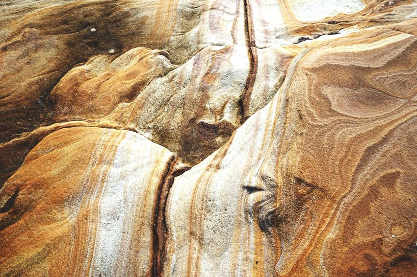 Sandstone textures, Bare Island, La Perouse. The Global EyeEm Adventure EEA3 - Sydney Open Edit EyeEm Best Shots Seaside
