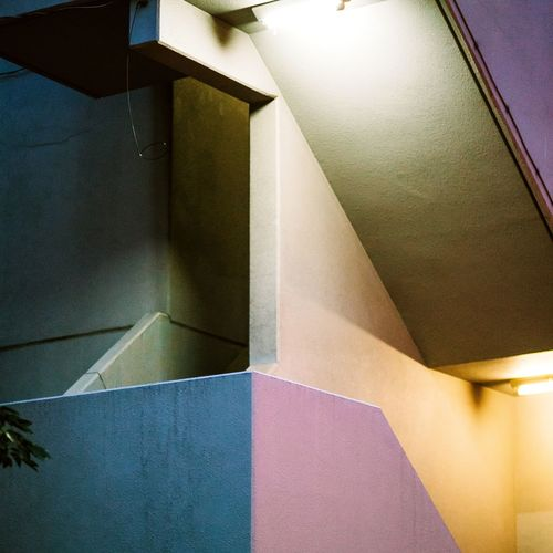 Tokyo Concrete Brutalism Brutalist Architecture Nightphotography Night Architectural Detail Architectural Feature Geometric Shape Architecture And Art