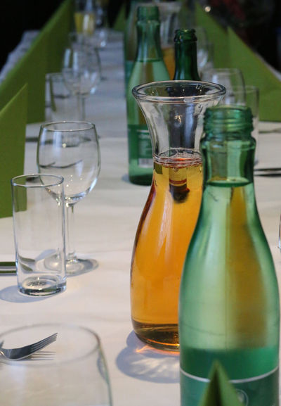 Applejuice Aqua Birhday Event Food And Drink Indoors  No People Party Water Water With Gas Wine Not