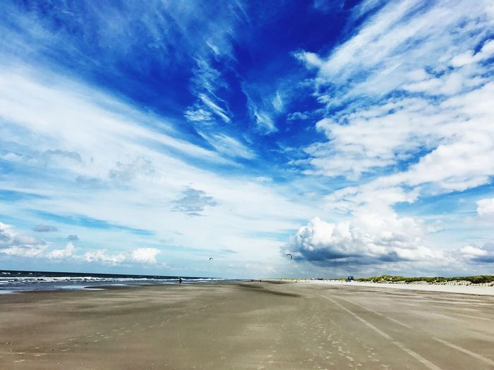 Beach Sky Beach Sky Blue Clouds Beach Day Beach Cloud - Sky Sky Sea Water Scenics - Nature Beauty In Nature Beach Non-urban Scene Horizon Over Water Outdoors Nature Blue Sand