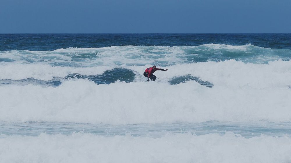 Second Acts Sea Real People Nature Leisure Activity Beauty In Nature Lifestyles One Person Horizon Over Water Outdoors Scenics Day Water Full Length Motion Wave Sport Adventure Clear Sky Extreme Sports Vacations Surfing EyeEm Best Shots Sports Meeting Friends Love Yourself
