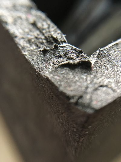 Close-up of metal