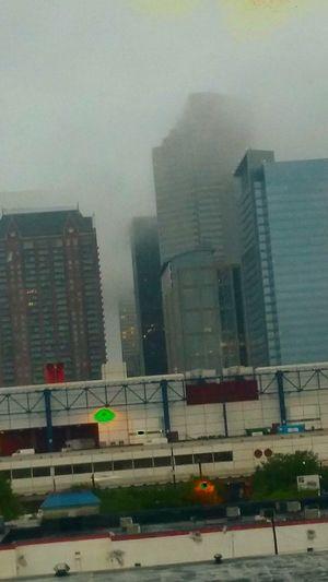 Downtown Houston Taking Photos Grumpy Weather Artist Le Noms