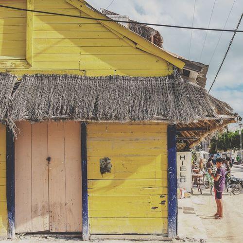 Colors Traveling Caribbean Mexico Yúcatan Holbox Island Travel Sunny Holbox Sky