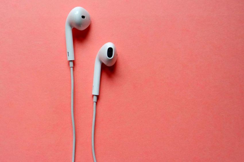 No People Pink Color Indoors  Close-up Day Earphones Headphones The Week On EyeEm