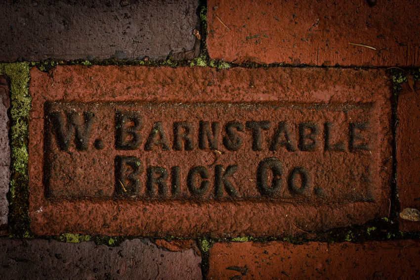 Architecture Barnstable Brick Wall Close-up Communication Day No People Outdoors Rare Red Rusty Text
