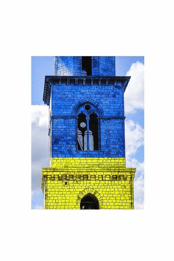 BLUE/YELLOW Building Exterior Architecture Built Structure No People Religion Outdoors Day Italia Italy Puglia Andria Sky EyeEm Best Edits EyeEm Like Followme EyeEmNewHere