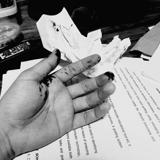 with my Thesis . Thesis Ink Stain Barehand Papers Ink Kanamikoronadal Samsunggalaxys4photography EyeEm Best Edits Eyeem Philippines EyeEm Gallery Week On Eyeem Mobilephotography Busy Day