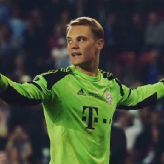 To the most deserving nominee of the best player! I love this guy! Much respect and good luck! Manuelneuer BayernMünchen Balondor