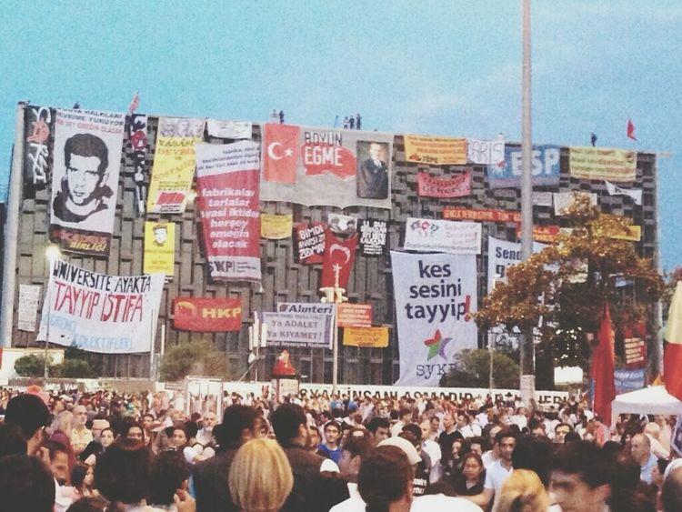 Taksim Gezi Parkı Occupygezi