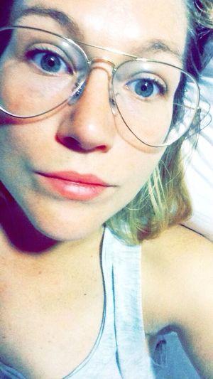 Selfie Glasses Four Eyes I WOKE UP LIKE THIS