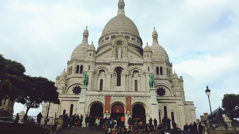 Breathtaking Paris Montmartre Historical Building this place brought tears to my eyes from its sheer beauty & wonderment... ?