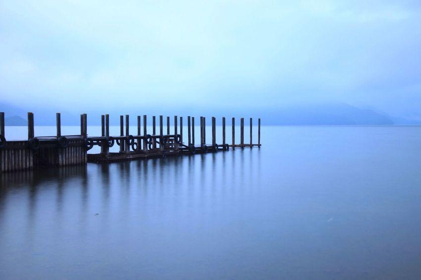 Pier in the lake. ISOPIX EyeEm Water Shots Landscape Long Exposure