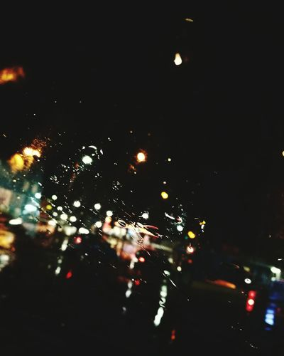 Illuminated No People Land Vehicle Close-up Night City Outdoors Sky