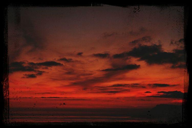 Provence Côte D'Azur Ventimiglia Red Sundown