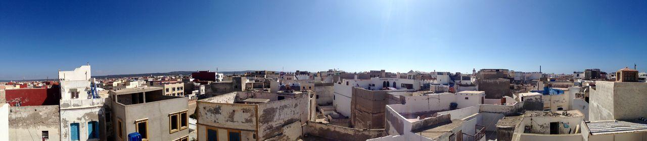 Marokko Morocco Essaouira Panorama Panoramic