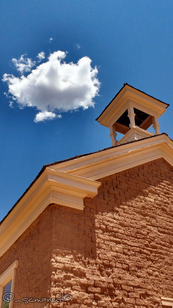 Grafton schoolhouse. Taken in Grafton, Utah Ghosttown Graftonutah Grafton Clouds And Sky SchoolHouse Oldwest Sunny Day