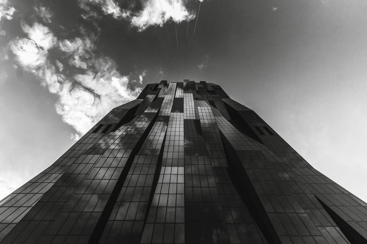 My fav building in Vienna Abstract Architecture Austria Beautiful Black & White Blackandwhite Built Structure Business Cityscape Clouds Day DC Tower Donau Dramatic Sky Leading Lines Look Up Low Angle View Modern No People Outdoors Scyscraper Sky Skyscraper Vienna Vienna_city EyeEmNewHere The Graphic City The Architect - 2018 EyeEm Awards