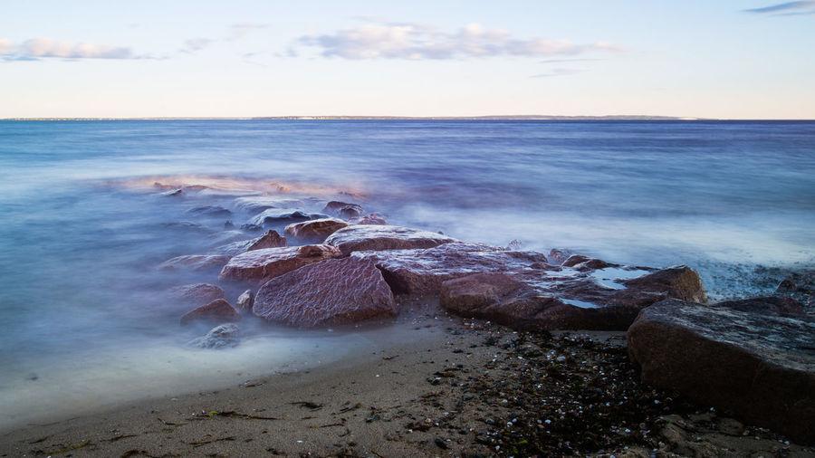 sea shore at