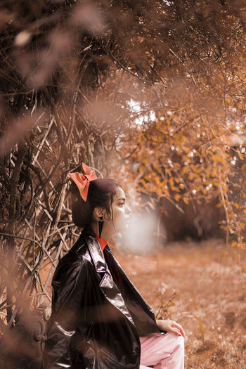 Autumn colors Portraits Autumn🍁🍁🍁 Fashion Editorial Fashion Photography Model Nature Real People Young Adult