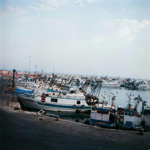 Boats Boats Film Flexaret 6x6 Sicily