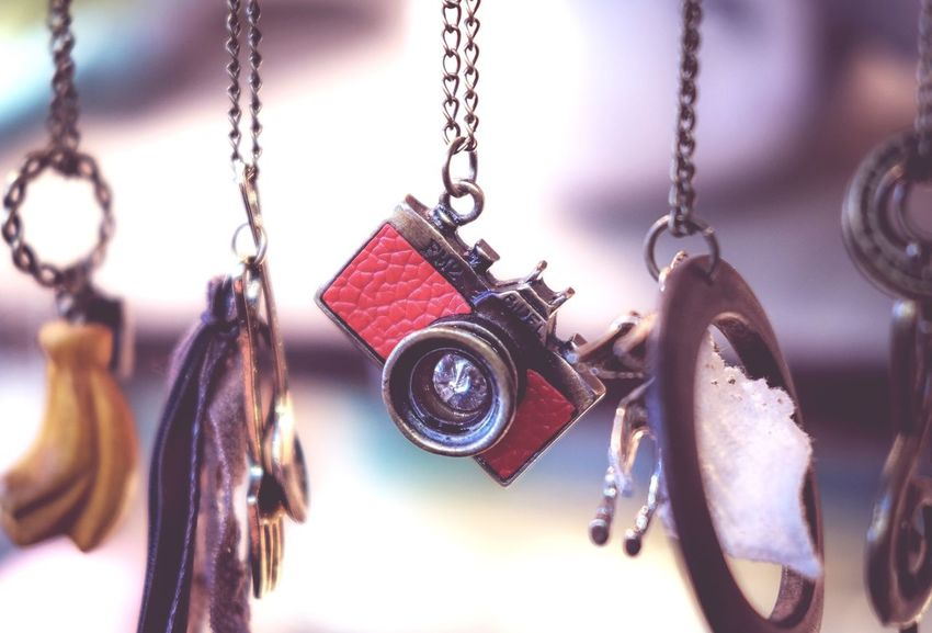 It's all about the Camera! Close-up No People Indoors  Camera Chain Pendants FUJIFILM X-T1
