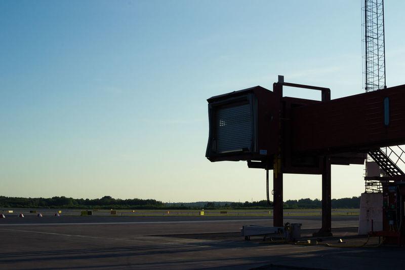 Airport Arlanda Arlanda Airport Closed Day Departure Deserted Empty Flying Gate Horizon Infrastructure Jetty Journey Locked Low View Outdoors Runway Sky Skybridge Take Off Tarmac Travel Traveling Walkway