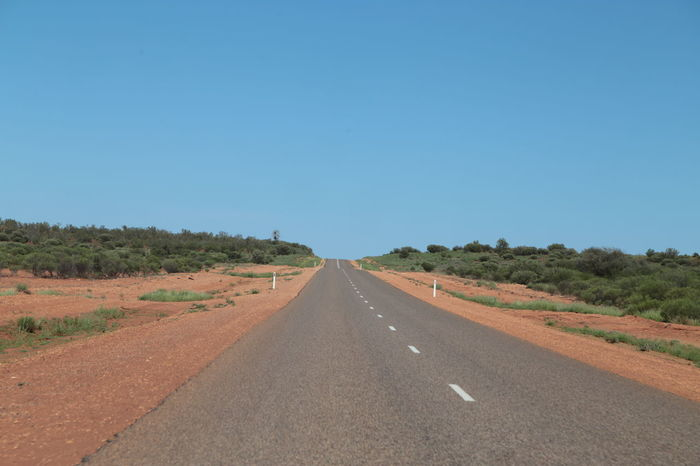 Asphalt Australia Blue Clear Sky Horizon Landscape No People Outdoors Paved Road Riding Free Road Scenics Sky Straight Forward Summer The Way Forward