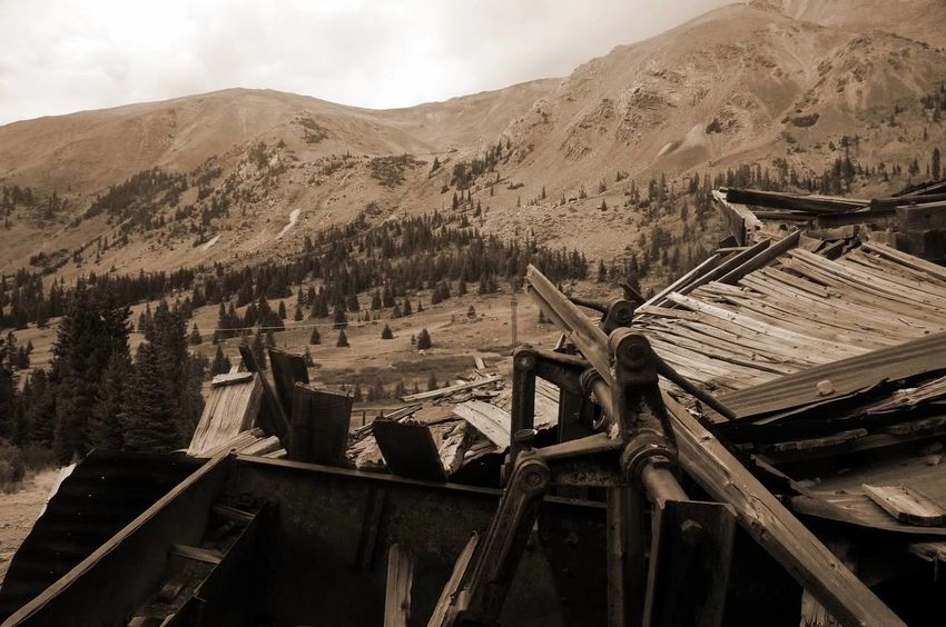 Mountain Abandoned Mining Colorado Photography Ghosttowns Mining Heritage Weathered Mining History Of America Colorado