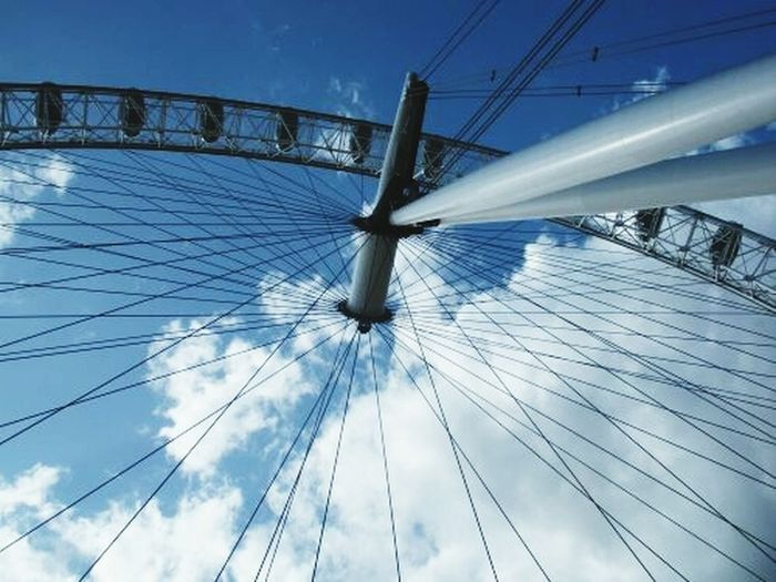 What Does Peace Look Like To You? #memories ferriswheel Thelondoneye on a visit to the Unitedkingdom Sky clouds peace reachiNgnewheights Elevation
