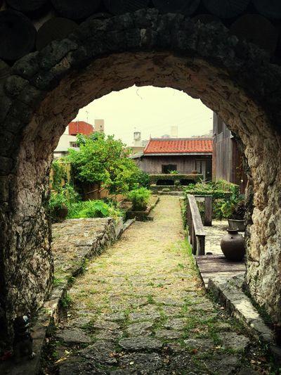 OKINAWA, JAional Japanese Garden }] #Stone arch