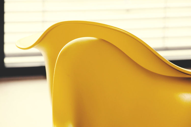Close-up of yellow object