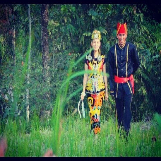 Me and My lovely Wife..:), Ethnic , Culture Dayak Culture n Minahasa, Me