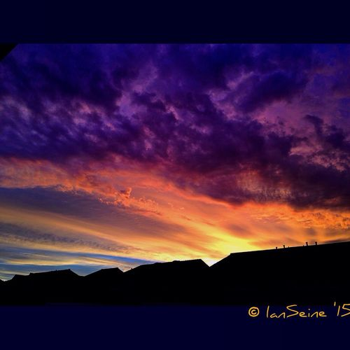 An HDRSunset Freestyle Sunrise_sunsets_aroundworld Sky Collection Art Gallery Clouds And Sky Hdr_Collection Eye4enchanting Eye4photography  Sky And Clouds The Great Outdoors - 2015 EyeEm Awards