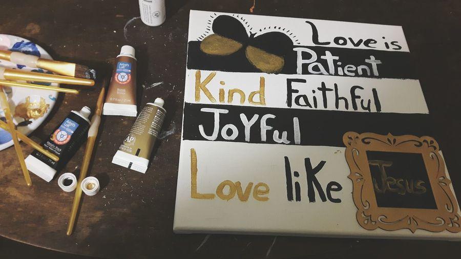 Painting Latenight Love ♥ Jesus