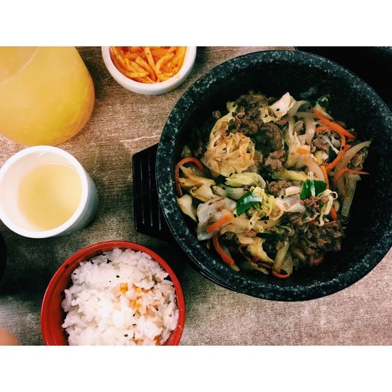 韓鄉 情人節 韓式料理 很好吃 要排隊