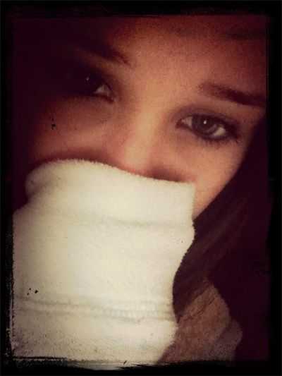 Alone in this fight and she knows if she cries, that first tear, the tears will not stop raining down.