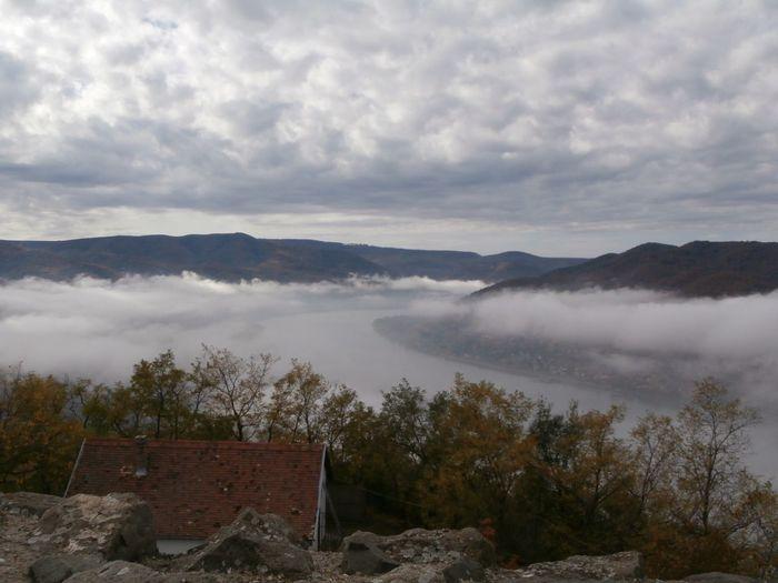 Hungary Visegrad Autumn Cloud
